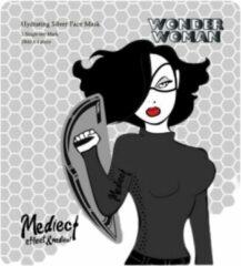 Zilveren Mediect Wonder Woman Wonder Woman™ Silver Gezichtsmasker – Hydrating Face Mask - Anti Aging Gezichtsverzorging Masker