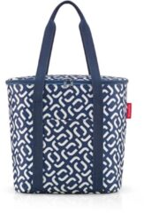 Marineblauwe Reisenthel Thermoshopper Koeltas - 15L - Signature Navy Blauw