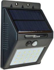 Groenovatie LED Buitenwandlamp - 1,5W - Op Zonne-Energie - Waterdicht - 135x100x50 mm - Sensor