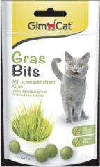 Gimcat Gras Bits - Kattensnack - 40 g