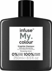 My Haircare Infuse My.Colour Graphite Shampoo 250ml voor zilvergrijs haar