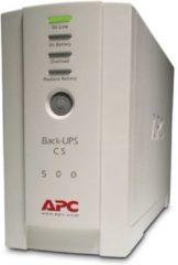 Witte APC BK500EI Back UPS CS 500VA 300W Input 230V Output 230V Interface Port DB-9 RS-232 USB