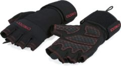 Gymstick Workout gloves Sporthandschoenen Unisex - Zwart - One size