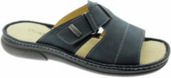 Blauwe Slippers Uomodue By Riposella UD50799bl