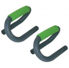 Schildkrot Fitness Schildkröt Fitness Push-upbar - 2 Opdruksteunen - Staal - Groen/Antraciet