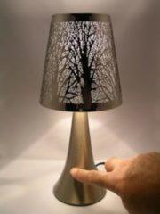 Touchlampe mit Relief 'Bäume' JOKA braun
