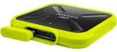 ADATA SD700 1000GB USB Type-A 3.0 (3.1 Gen 1) Zwart, Geel