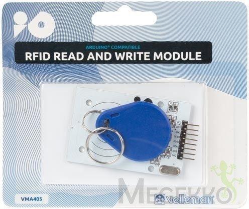 Afbeelding van Module voor het lezen en schrijven van RFID Velleman VMA405 Geschikt voor (Arduino boards): Arduino, Arduino UNO, Fayaduino, Freeduino, Seeeduino, Seeeduino