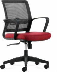 BenS 831-Eco-v Bureaustoel Rood, degelijke bureaustoel geschikt voor langdurig gebruik