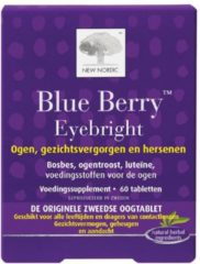 New Nordic Blue berry eyebright 60 Tabletten