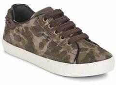 Groene Lage Sneakers Geox KIWI GIRL