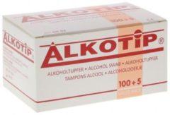 Alkotip alcohol doekjes - 105 alcohol doekjes - desinfectie doekjes - Alcohol doekjes voor brillen, handen -Steriel - desinfecterende doekjes - Alternatief handgel