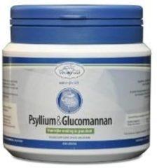 Vitakruid Psyllium & Glucomannan Voedingssupplement - 450 gr poeder