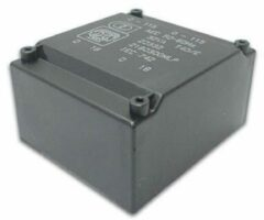 Transformator Laag Profiel 25va 2 X 6v / 2 X 2.083a - [2060250MLP]