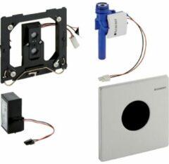 Geberit HyTronic urinoir stuursysteem infrarood 230V mambo 13x13cm RVS geborsteld