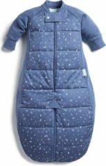 Blauwe Ergopouch Babyslaapzak met beentjes Night Sky 2.5 TOG - 3-12mnd (80cm)