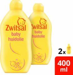 Zwitsal Baby Huidolie 2x400 ml