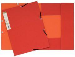 Exacompta FOREVER® Elastomap 3 kleppen uit gerecycleerd karton 380g/m2 - A4. (56985E)