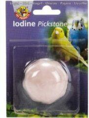 Beeztees Piksteen - Vogelsnack - Iodine - Roze - 5x5x3 cm