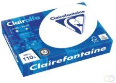 Witte Clairefontaine Clairalfa presentatiepapier A4 110 g pak van 500 vel