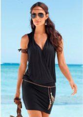 Zwarte S.Oliver RED LABEL Beachwear lang shirt (incl. riem)