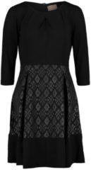 Casual-Kleid mit ausgestelltem Rock Cartoon Schwarz/Grau - Grau