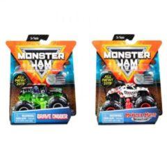 Spin Master schaalmodel Monster Jam Max-D 1:64 zilver/geel 10 cm