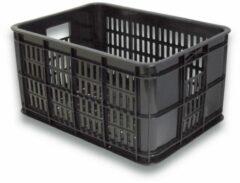 Basil Fietskrat Zwart Basil Crate Small Fietskrat - 25 Liter - Zwart