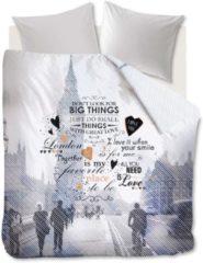 Grijze Beddinghouse Big Things Kussensloop - 60x70 cm - Grey