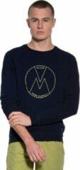 Donkerblauwe Victim Heren Sweater Maat S