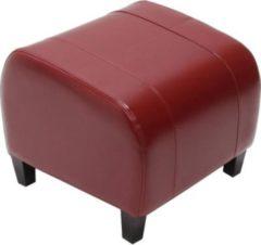 Heute-wohnen Hocker Sitzwürfel Sitzhocker Emmen, LEDER, 37x45x47 cm