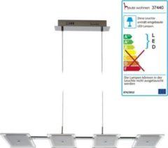 Heute-wohnen LED-Hängeleuchte HW177, Hängelampe Pendelleuchte Deckenleuchte, 4-flammig 4x5W EEK A