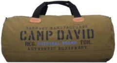 Camden Bay Weekender Reisetasche 59 cm Camp David khaki schwarz