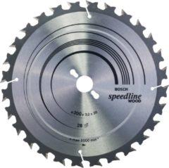 Bosch Accessories Standard for Wood Speed 2608640681 Hardmetaal-cirkelzaagblad 300 x 30 x 3.2 mm Aantal tanden: 28 1 stuk(s)