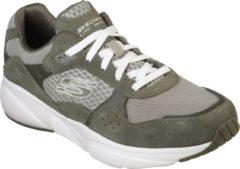 Skechers Meridian- Ostwall Sneakers Heren - Olive - Maat 41