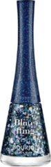 Blauwe Bourjois 1 Seconde Relaunch Nagellak - 01 Blueffing - Blauw Glitter