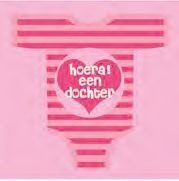 Haza Servetten 33*33 cm Girl