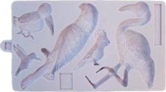 Karen Davies Siliconen Mal Tropische Vogels