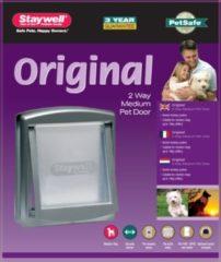 Zilveren PetSafe Huisdierenluik in 2 richtingen 757 Medium 26,7 x 22,8 cm zilver 5022