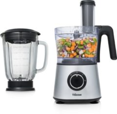 Tristar Keukenmachine en blender 600 W 3 L zilverkleurig