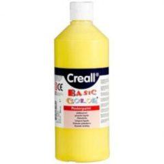 Bruna Plakkaatverf Creall basic 02 primair geel 500ml