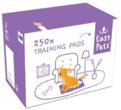 Witte Easypets Puppy Training Pads - Zindelijkheidstraining - Hondentoilet - 58 x 58 cm - 250 stuks