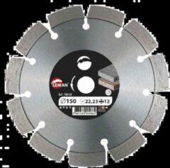 Leman disque diamant pour beton, granit ... ø150