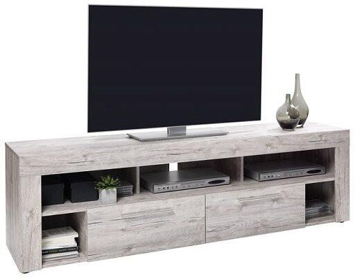 Afbeelding van FD Furniture Tv-meubel Raymond 180 cm breed - Zand eiken