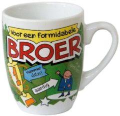 123 Kado koffiemokken Cartoonmok Broer - 300 ml