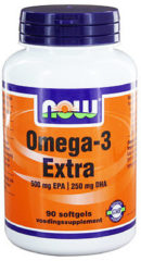 Now Foods Now Omega-3 Extra 500 Mg Epa 250 Mg Dha Trio (3x 90sft)