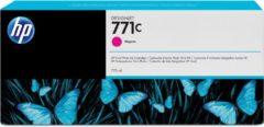 Paarse HP 771C - Inktcartridge / Magenta / 775 ml (B6Y09A)