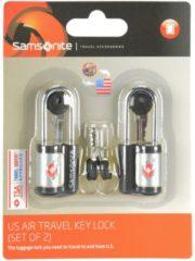 Accessories Reise-Sicherheit TSA-Vorhängeschloss 2er Set I 2,5 cm Samsonite black