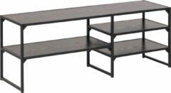 Fyn Sea TV-meubel met 3 planken zwart.