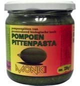 Monki Pompoenpittenpasta bio 330 Gram